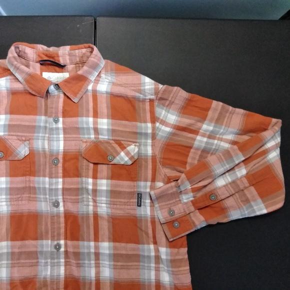 cb07c10c4fa Columbia Shirts | Plaid Flannel Shirt Texas Am Longhorns | Poshmark